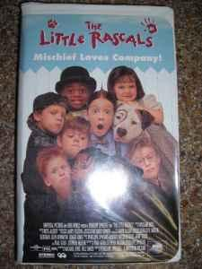 The Little Rascals VHS Movie - $2 (Chico, CA)
