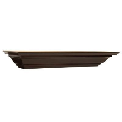 The Magellan Group 5 1 4 In Espresso Crown Moulding Shelf