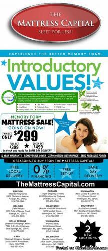 The Mattress Capitals Tempur-Pedic Blowout Sale