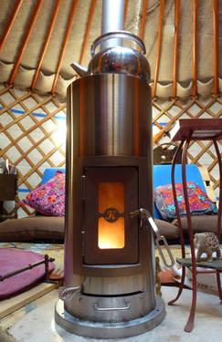 The Most Amazing Small Efficient Wood Stove Ever For