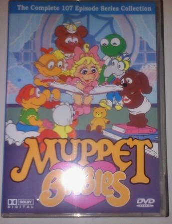 The Muppet Babies Complete Dvd Set Rare For