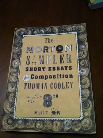 norton short reader essays Rhetorically arranged reader that practices what it preaches about good writing wed, 17 oct 2018 18:05:00 gmt the norton sampler: short essays for composition - norton  download books the norton sampler short essays for composition eighth edition thomas cooley , download books the norton sampler short essays for composition eighth edition.