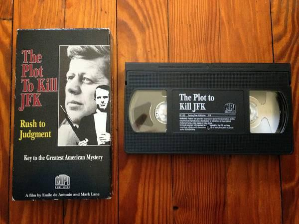 The Plot to Kill JFK: Rush to Judgment on VHS