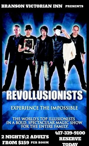 The World's Greatest Ensemble of Illusionists-THE