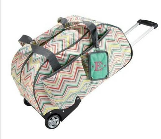 Thirty One 31 Rolling Weekender Tote Hostess Only Party