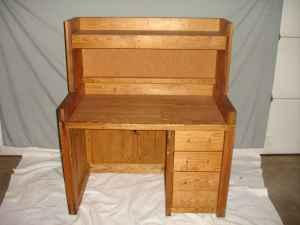 This End Up Desk With Upper Storage   $40 (Hudson) Images