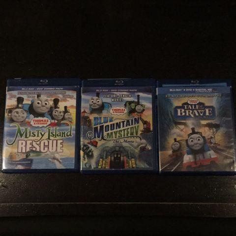 USED: Thomas & Friends combo Blu Ray and DVD combos