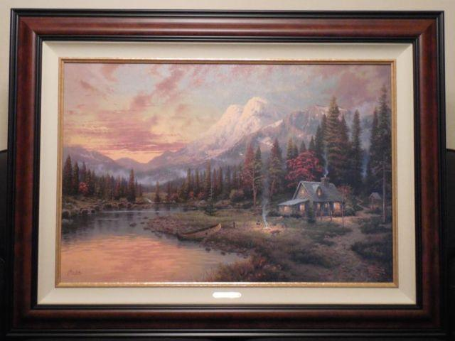 Thomas Kinkade Painting For Sale In Texas Classifieds Buy And Sell