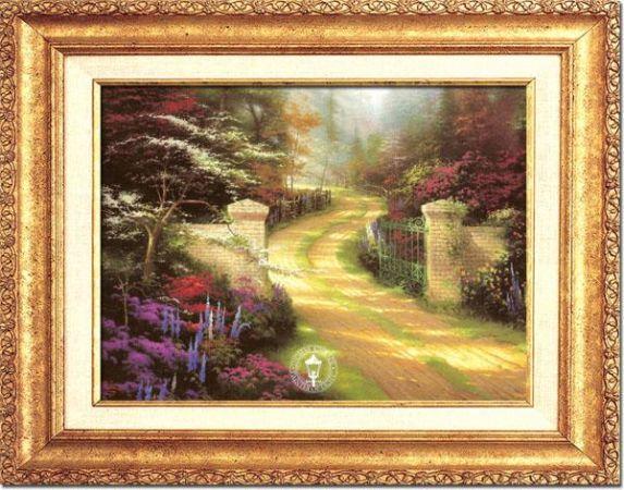 Thomas Kinkade Painting Monterey For Sale In