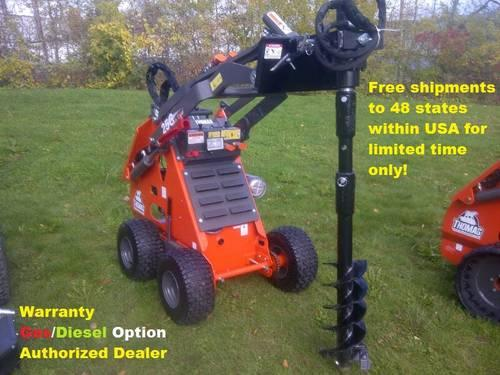 Thomas Mini Skid Steer-Compact Loader 25G WT AttachmentsOptional