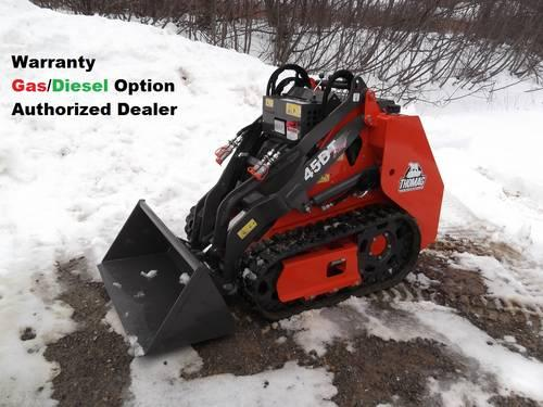 Thomas Mini Skid Steer-Compact Loader 45DT WT AttachmentsOptional