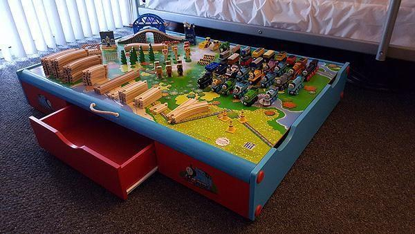 Thomas the Tank Engine & Friends Under Bed Train Set for Sale in ...