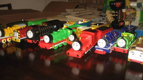 Thomas the Tank Train Collection - $165