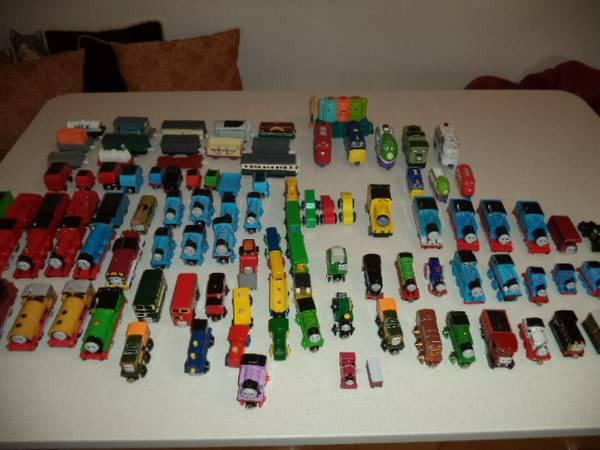 Thomas the train and track very large lot look at pictures - $250