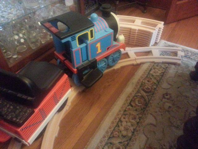 Thomas the train battery operated engine