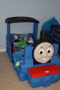 Thomas the Train Bed - $150 Gray