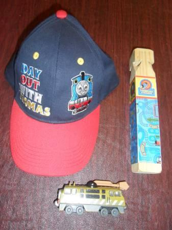 Thomas the train dvds, Hat  Whistle - $30