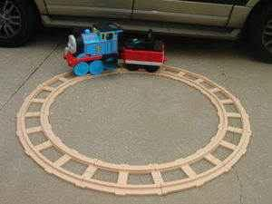 Thomas The Train Ride On Train Set - $125 Carson City