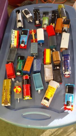 Thomas the Train Tracks and Trains