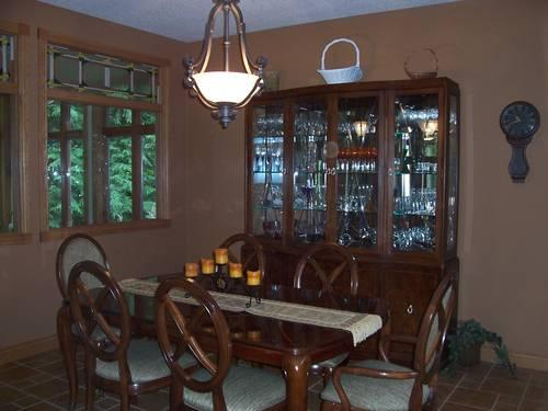 Thomasville Bel Air Dining Table And China Hutch For Sale