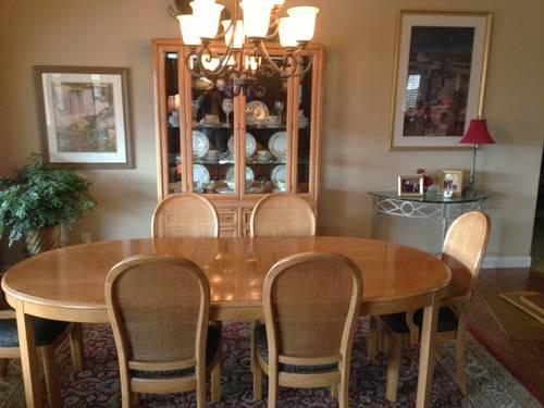 thomasville dining room set for sale in tucson arizona