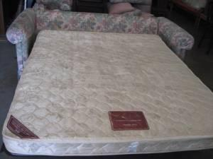 Thomasville Sofa Bed With Nice Wing Back Chair 199