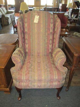 Beau Thomasville Wingback Chair   $95