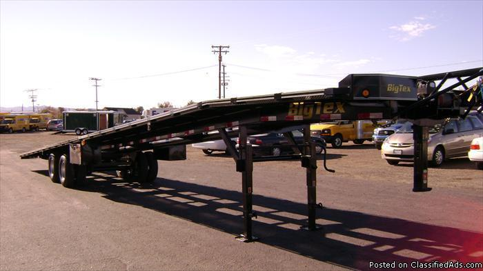 Three Car Haulers, Three Car Trailers, Big Tex Trailers 20AC-51 for ...