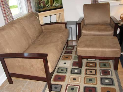Three piece living room set good condition for sale in for 3 piece living room sets for sale