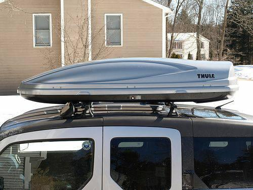 Thule and Yakima Cargo Boxes for Rent