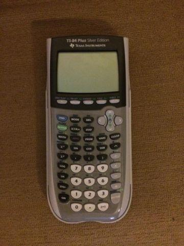 TI-84 Plus Silver Edition Calculator