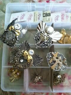 Tidings of Love Angel Pins - 10 Pins in All! - $50