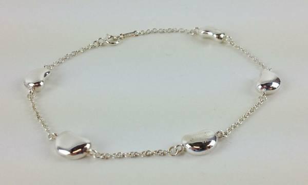 Tiffany Co 925 Sterling Silver Elsa Peretti Bean