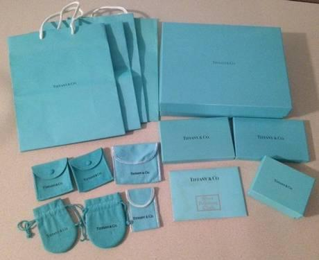 812fb0e77c0 Tiffany & Co Silver Polishing Cloth, Gift Boxes, Gift Bags & Pouches ...