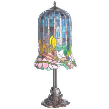 elegance stained glass table lamp for sale in indianapolis indiana. Black Bedroom Furniture Sets. Home Design Ideas