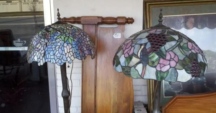 Tiffany Style Floor Lamp 2 Available Stained Glass