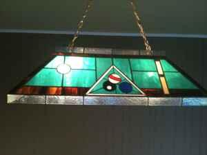 Tiffany Pool Table Light Great Odessa Texas For Sale