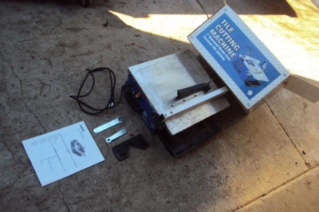 Tile Cutter Model Number Ctc550 For Sale In Bell