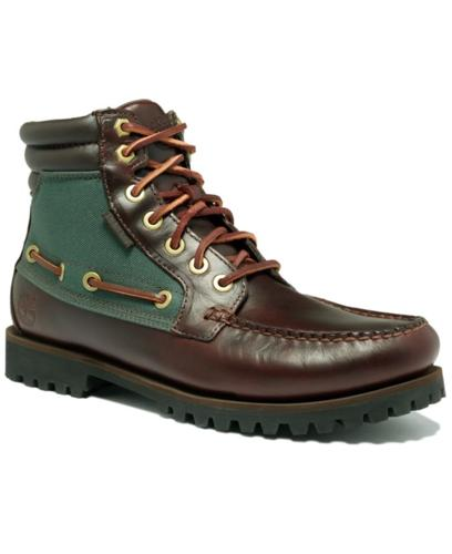 Timberland Shoes, Oakwell 7 Eye Moc Toe Boots