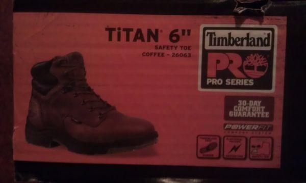 Timberland Titan Work Boots - $85 Davison