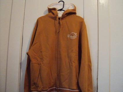Timberland Zip Up Hoodie Men S Size Xl Two Tone Wheat