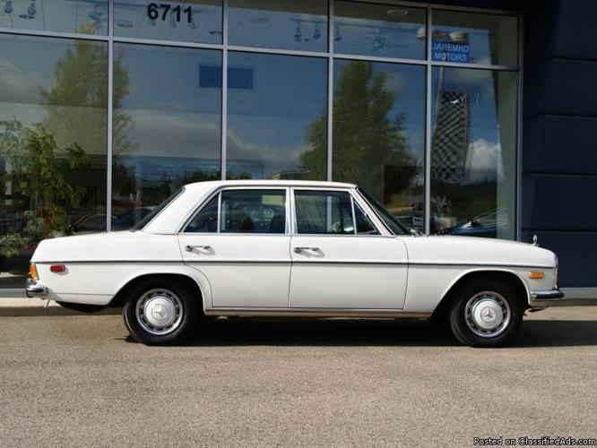 Time warp 1972 mercedes benz 220d with just 79 000 miles for Mercedes benz spokane