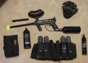 Tippman 98 custom paintball gun - $175 taylors