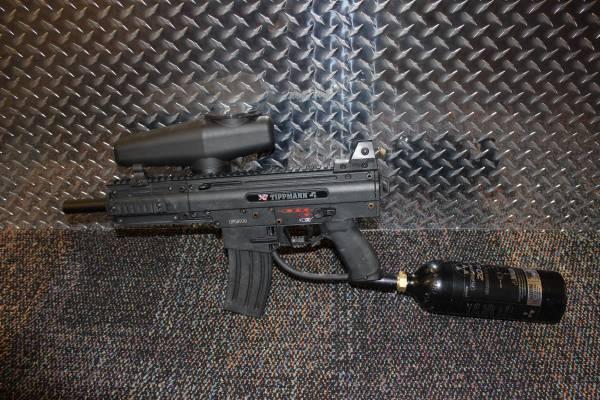 Tippman X7 Response Trigger Paintball Gun - $195