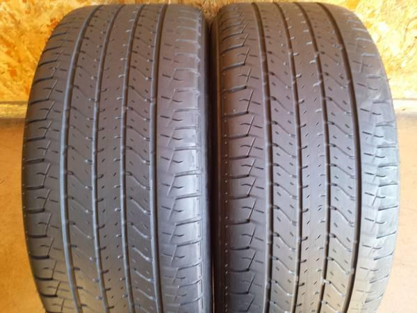 Tires 245/45R17 Pair Bridgestone - $70