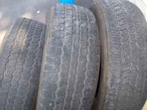 tires 245/70/17 - $45 (Easton)