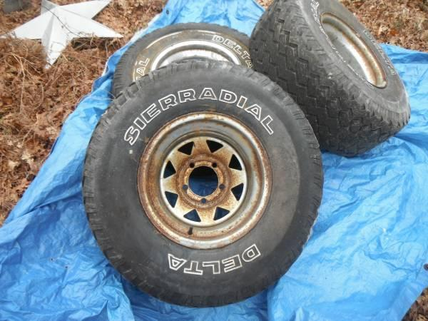 TIRES AND RIMS - $1