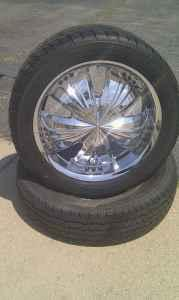 TIRES W RIMS FOR SALE - $800 HOPEWELL, VA