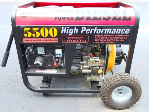Titan Diesel Generator Classifieds