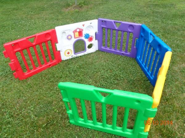 Today S Kids Baby Toddler Gate Play Yard Play Land 1